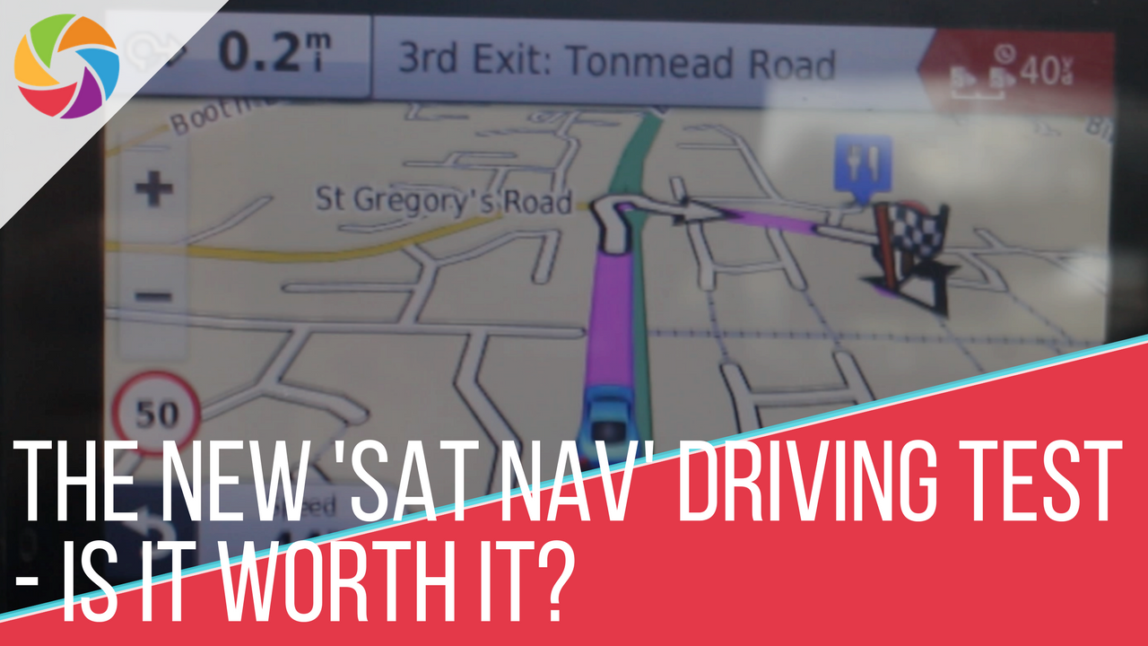 The New 'Sat Nav' Driving Test - Is it Worth It?